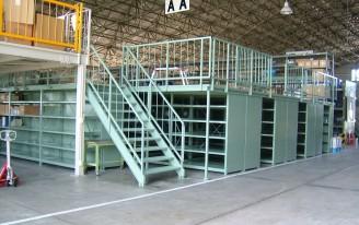 官公庁向け積層棚 建築・構造物